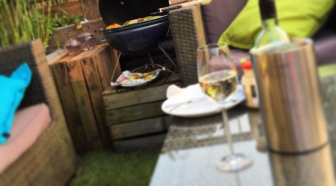 Part of my hipster life – bbq'en